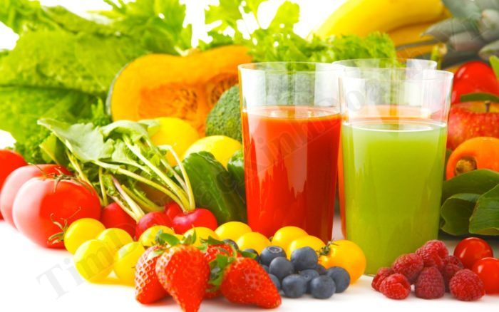 rau củ quả ép tốt cho sức khỏe doanh nhân