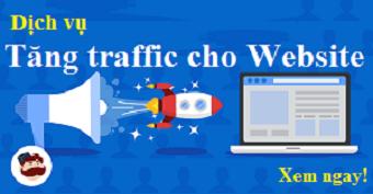 Dịch vụ tăng traffic cho website