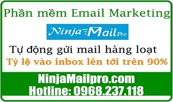 Phần mềm tự động gửi Email hàng loạt cho tỷ lệ mail vào inbox lên tới trên 90%