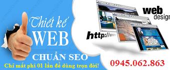 Thiết kế web chuẩn SEO theo tiêu chuẩn nước ngoài