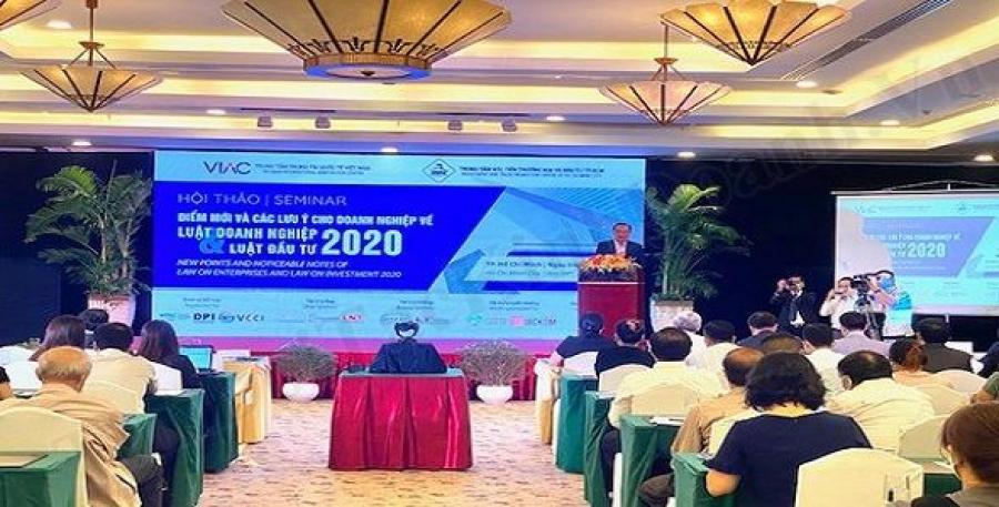 Sự kiện hội thảo luật doanh nghiệp và luật đầu tư 2020 - doanh nghiệp cần làm vì?