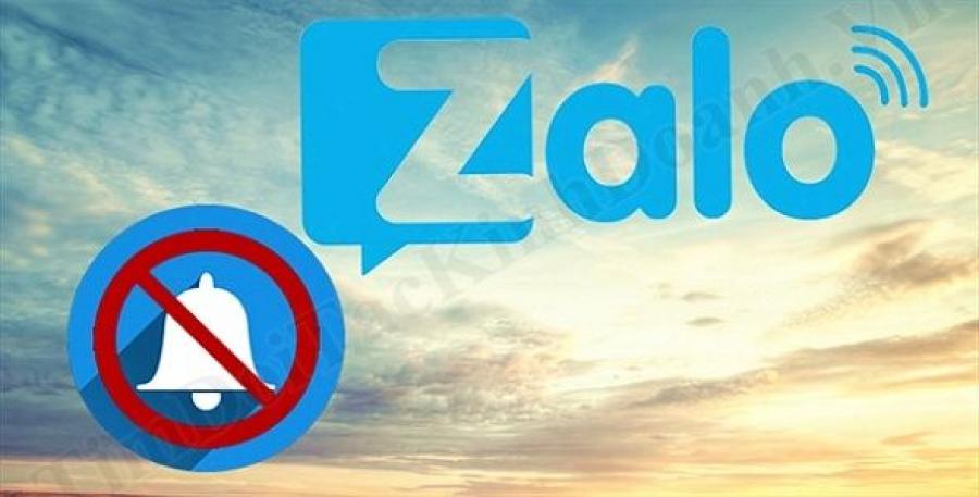 Cách tắt thông báo trên Zalo để tránh bị làm phiền