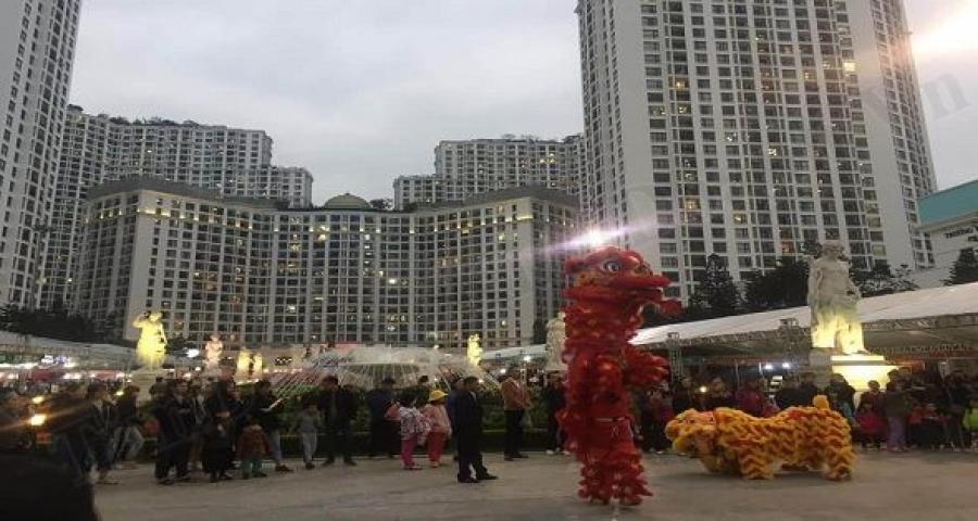 Hội chợ xuân Hà nội 2021 tại Royal City và Times City